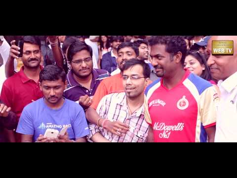 Muttiah Muralitharan at RCB Corporate Cricket Championship