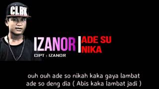 Download lagu Izanor Ade Su Nika Mp3