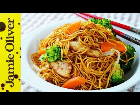 stir - The wonderful Dumpling Sisters have a mouth-wateringly good chicken fried noodle recipe for you FoodTubers! Succulent chicken pieces cooked in a soy sauce, g...