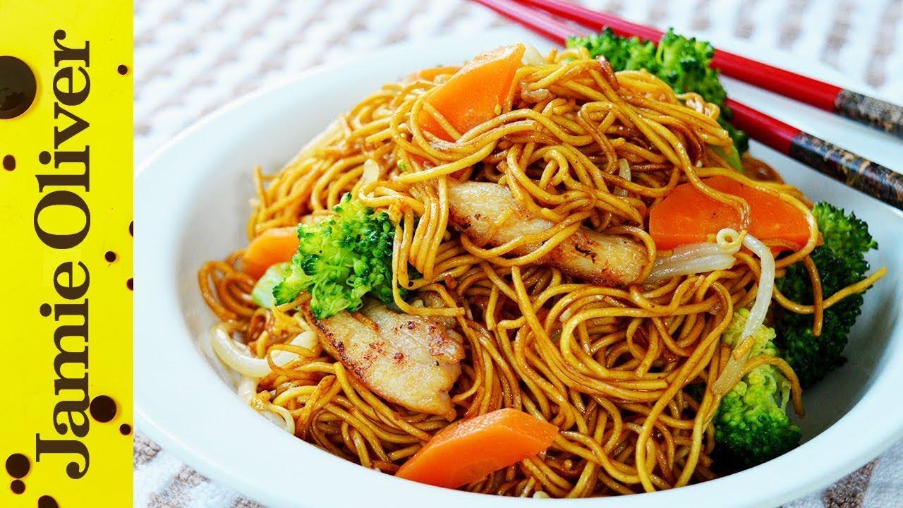 Beef Noodles Soy Sauce Good Food