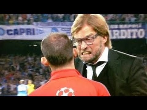 Top 10 Angry Football Managers Fights Expulsions Crazy Moments