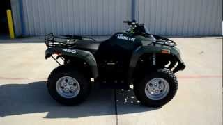 1. Review: 2013 Arctic Cat 450 I 4X4 in Green