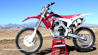 5. First Ride 2015 Honda CRF250 Motocross Action Magazine