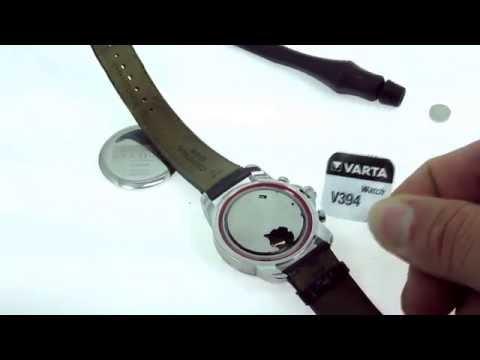 Как заменить батарейку certina