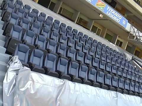 Ajustes en el estadio Morelos