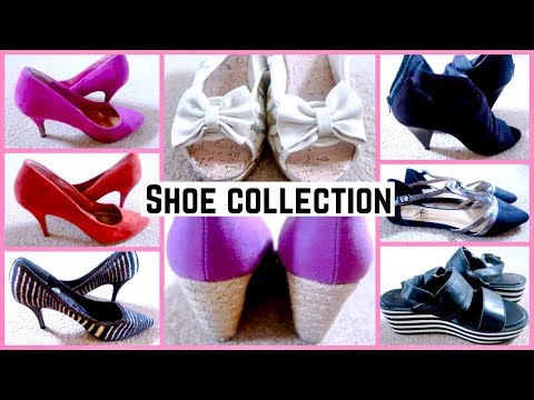(MY MASSIVE SHOE COLLECTION + I HATE MY FRIENDS FOR THIS ...12 min.)