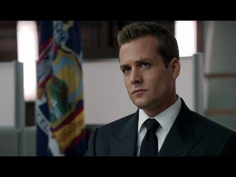 Suits - Season 2 - Episode 7 - Mock trail scene (Harvey Specter)