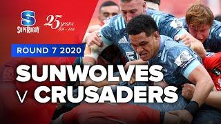 Sunwolves v Crusaders Rd.7 2020 Super rugby video highlights   Super Rugby Video Highlights
