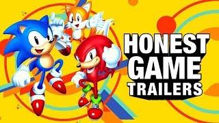 SONIC MANIA (Honest Game Trailers)