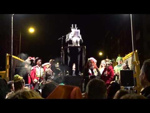 Karneval Köln 2016 – Nubbelverbrennung – Urteil und Tod (Burning of Nubbel – Judgment and Death)