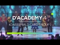 Highlight  D'Academy 4 - Konser Wildcard Group 1 (15/02/17)