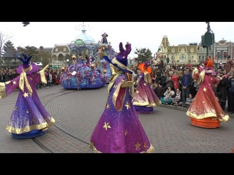 Disney Magic on Parade! Premiere - Disneyland Paris 20th Anniversary HD Complete