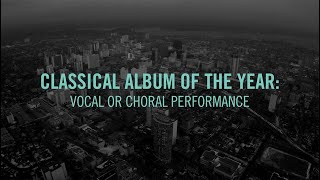 Classical Album Of The Year: Vocal Or Choral Performance | 2015 JUNO Award Nominee Press Conference