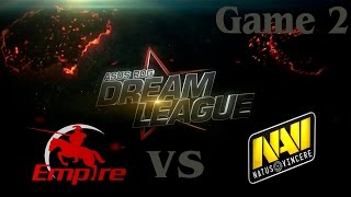 Empire vs Na'Vi, game 2