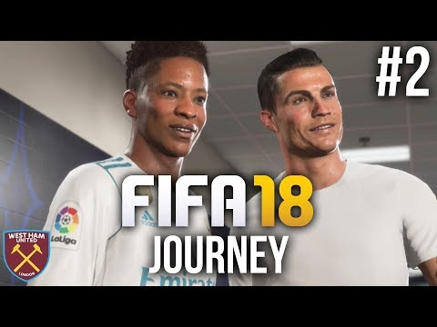 FIFA 18 The Journey Gameplay Walkthrough Part 2 - RONALDO (Full Game)