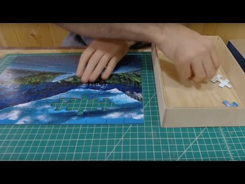Laser Tutorial: Make a Puzzle from an Image