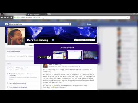 how to go facebook profile