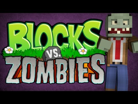 Blocks VS Zombies! Minecraft Mini Game w/ SensualPuma