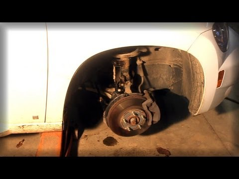 DIY easy front strut replacement Chevy HHR & most other vehicles – MacPherson change swap shocks