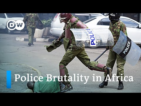Abductions, killings and police brutality in Africa - Why public trust in the police is so low