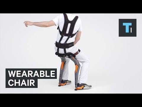 Sit Anywhere with this Wearable Chair