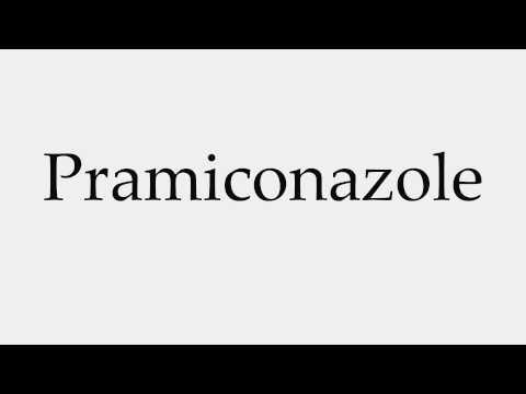 How to Pronounce Pramiconazole