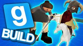 LEGENDARY MEDIEVAL JOUSTING! | Gmod Build | We Make Hilarious Jousting Contraptions