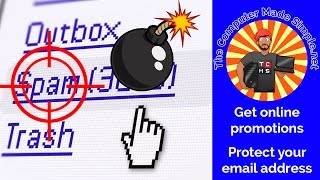 Learn how to not give away your personal email address while signing up for online promotions, discounts or free products!For more information: http://thecomputermadesimple.netA license to use this royalty-free music by AurusAudio was purchased from AudioJungle.net