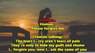 Human - Human League (Karaoke) HD