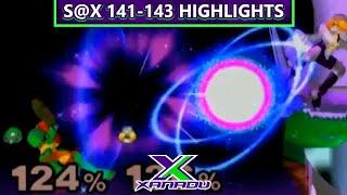 VGBootCamp | S@X 140-142: Smash 4 Highlights [8m41s-19m33s]