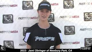 2021 Jami Obringer Shortstop and Outfield Softball Skills Video - Easton Preps