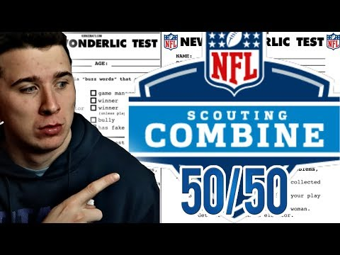 CAN I SCORE A PERFECT SCORE ON THE NFL COMBINE WONDERLIC TEST!