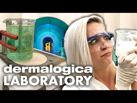 Making Skin Serum in the Dermalogica Lab! (Beauty Trippin)