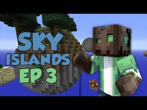 MINECRAFT SKY ISLANDS | EP.3 | PRIMERA DUNGEON!