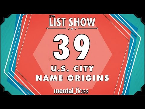 The Interesting Origins of 39 US City Names