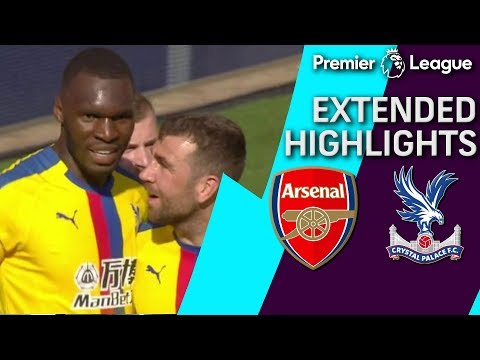 Arsenal V. Crystal Palace | PREMIER LEAGUE EXTENDED HIGHLIGHTS | 4/21/19 | NBC Sports