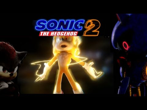 Sonic The Hedgehog 2 -Official Trailer (2022) Jim Carrey, James Marsden, Ben Schwartz, Tika Sumpter