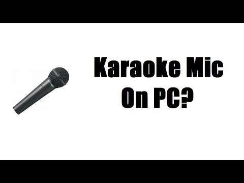 How To Connect A Karaoke Microphone On Your Pc?