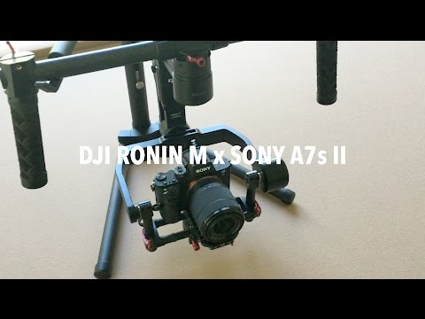 DJI RONIN M x Sony A7s II in Action/Review