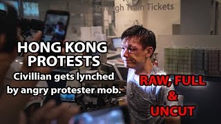The sickening violence of the HK rioters / terrorists