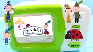BEN & HOLLY'S LITTLE KINGDOM Magical Microwave Oven PLAY DOH BALLS