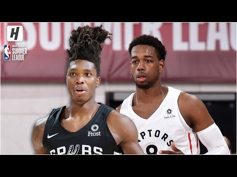 San Antonio Spurs vs Toronto Raptors - Full Game Highlights | July 8, 2019 NBA Summer League