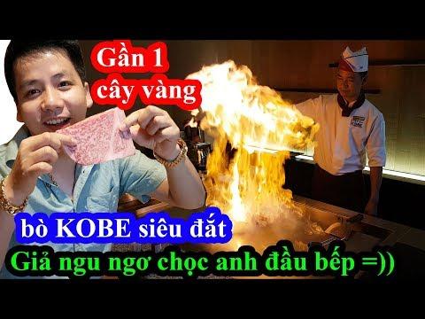Hai lúa giả ngu ăn bò Kobe siêu đắt có giá gần 1 cây vàng chọc anh đầu bếp và cái kết cười ngất - Thời lượng: 1 giờ.