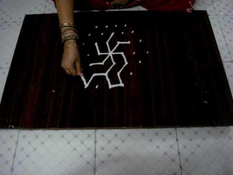 Rangoli/kolam learning
