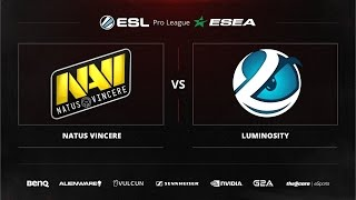 Na'Vi vs Luminosity, game 1