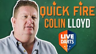 Colin Lloyd – Quick-Fire Q&A with the former world number one