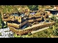 Epic Military Base at Franklin's House - GTA 5 PC MOD