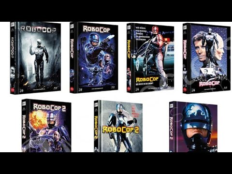 Unboxing Robocop (1987) mediabook from 84 entertainment! Awesome release.