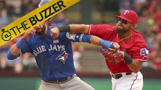 Yesterday wasn't the first time Rougned Odor started a brawl in a baseball game by @The Buzzer