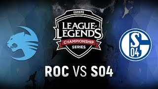 Video ROC vs. S04  - Week 1 Day 1 | EU LCS Spring Split |  Team Roccat vs. FC Schalke 04 (2018) MP3, 3GP, MP4, WEBM, AVI, FLV Juni 2018